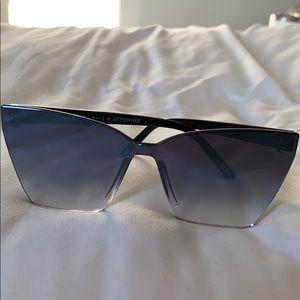 DIFF eyewear Goldie Gradient cat eye sunglasses